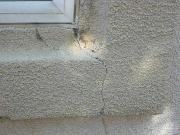 cracks caulking
