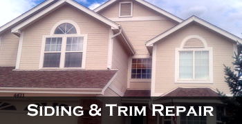 Siding & Trim Repair Colorado Springs