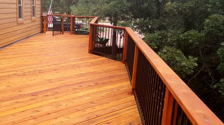 Deck Refinishing in Colorado Springs, Monument, Falcon, and El Paso County, Colorado