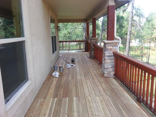 Deck Sanding in Colorado Springs
