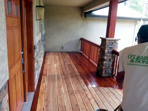 Deck Refinishing in Colorado Springs