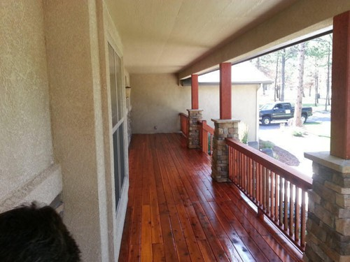 Deck Refinished in Colorado Springs