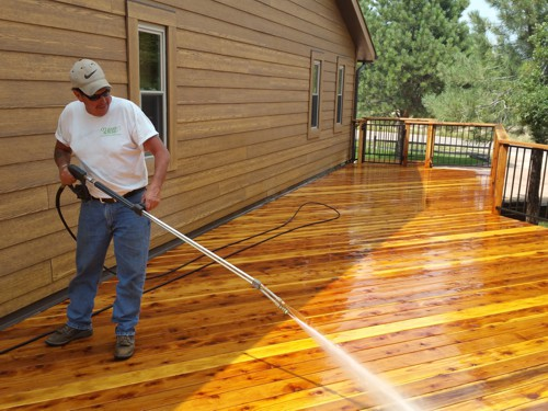Deck Pressure Washing in Colorado Springs