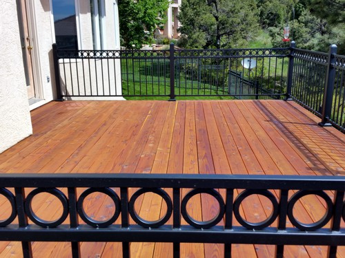 Deck Addition with Stairs in Colorado Springs