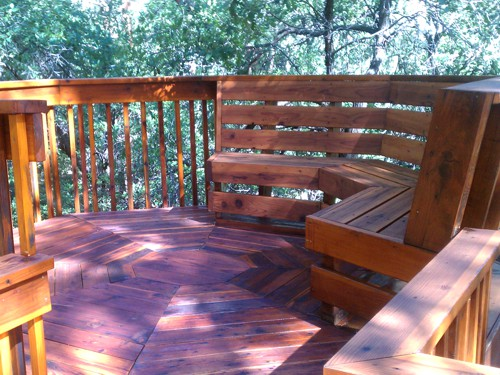 Refinished Deck in Colorado Springs