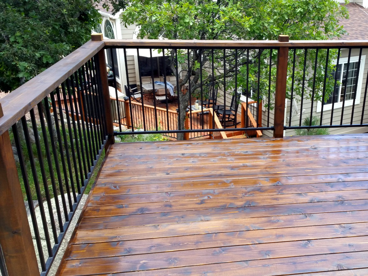 Deck repair colorado springs by o 39 leary and sons for Balcony repairs