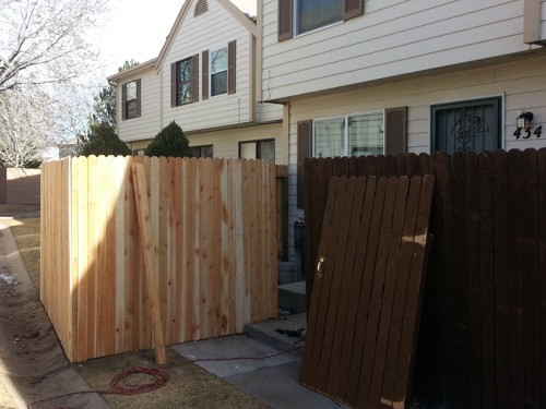 Fence Addition in Colorado Springs