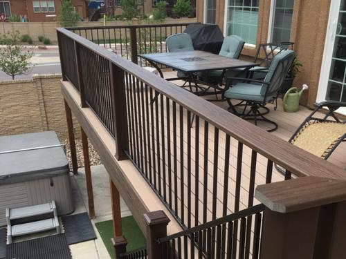 Composite Deck in Colorado Springs