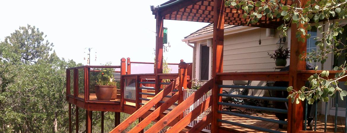Deck Inspiration Galleries, Colorado Springs