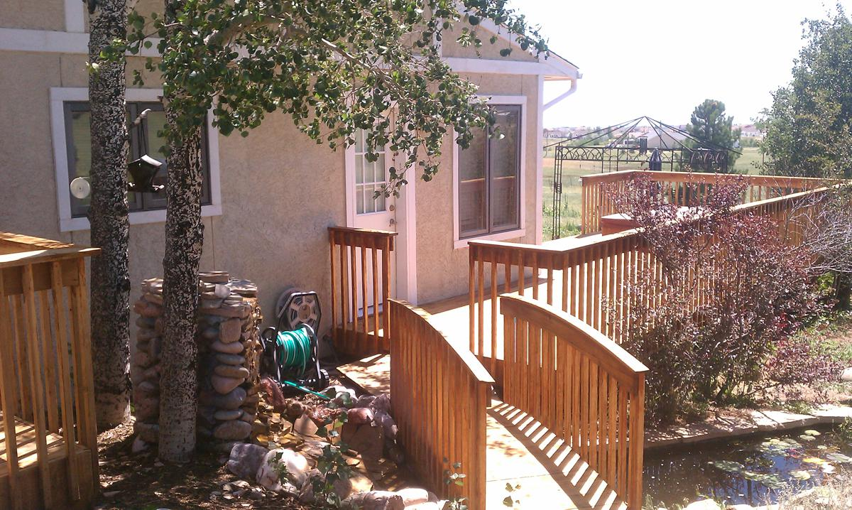 All Wood Deck Gallery Colorado Springs By O Leary And Sons