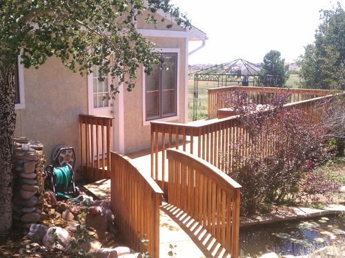 All Wood Deck in Colorado Springs