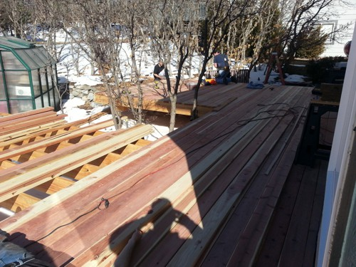 Building a new deck