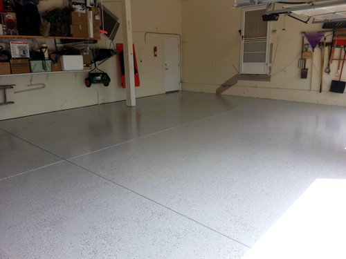 Garage Floor Painting in Colorado Springs